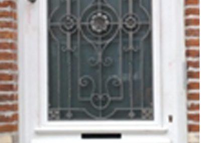 Handgekapte deur